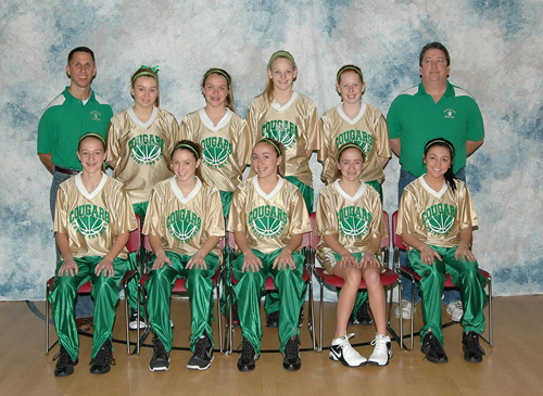 2010 IESA 8-2A  Girls Basketball Champions