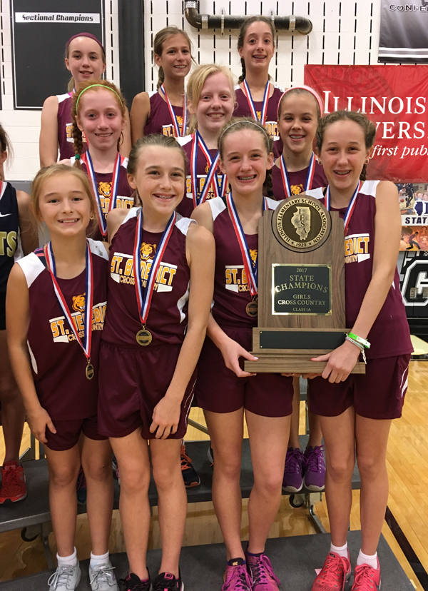 2017 IESA 1A  Girls Cross-Country Champions