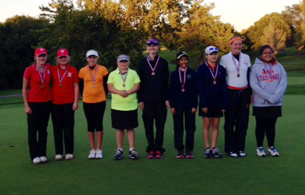 2014 IESA  Girls Golf Champions